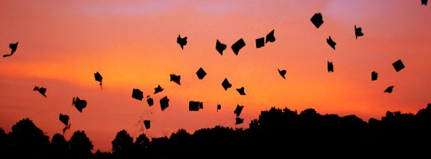 graduation-caps-in-air